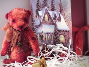 Медведик - подарок под ёлку!. Ярмарка Мастеров - ручная работа, handmade.