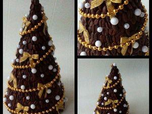 Лотерея, разыгрываем подарок к Новому году: елочку кофейную, мандариновое деревце и будильник с конфетами. Ярмарка Мастеров - ручная работа, handmade.