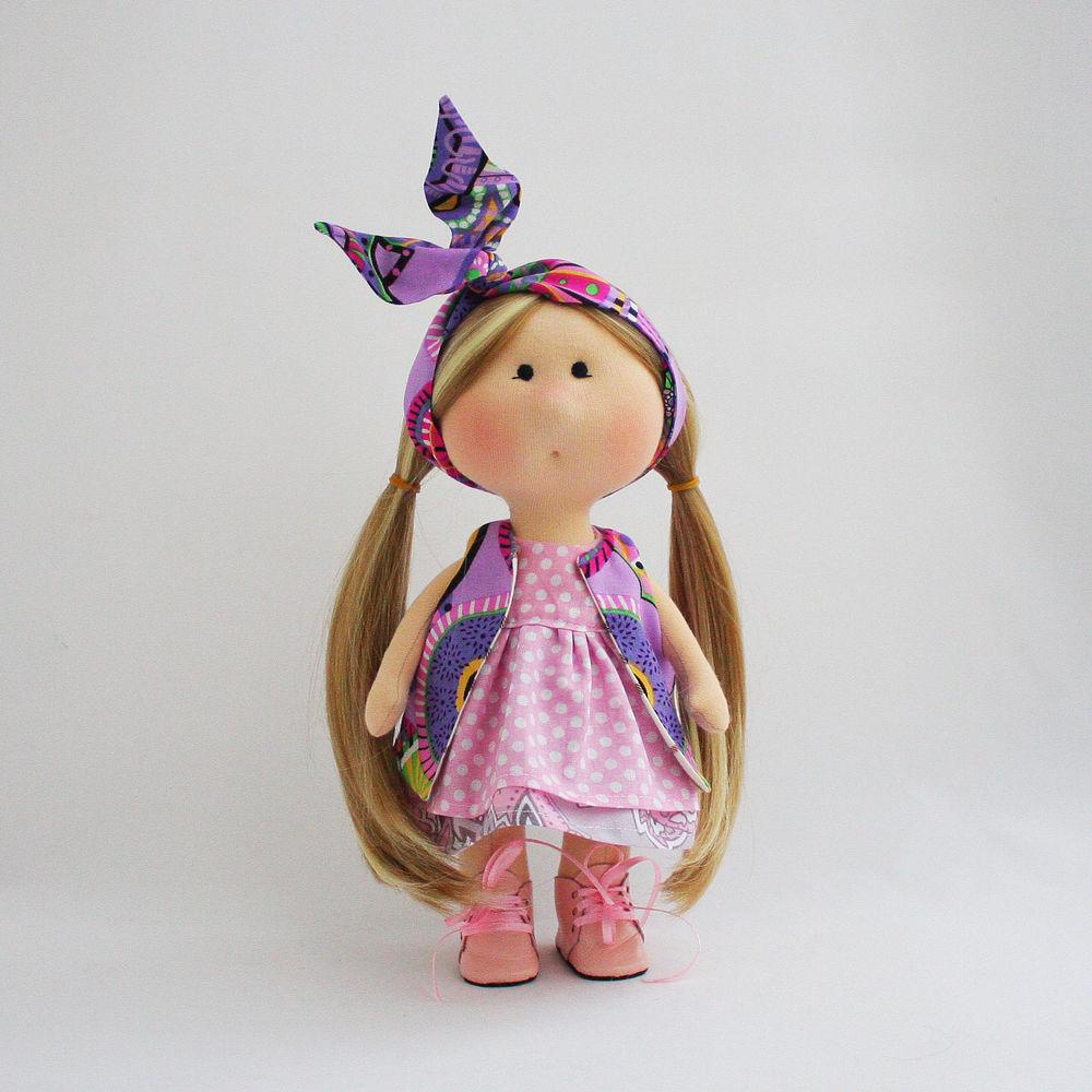 Текстильная игровая кукла., фото № 6