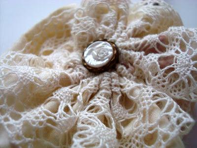 бусы текстильные