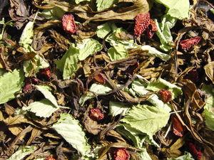 Новинка! Иван-чай с костяничным листом и клубникой. Ярмарка Мастеров - ручная работа, handmade.