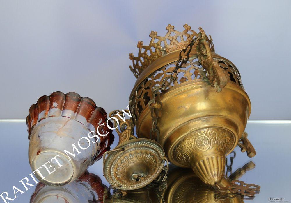 антикварная лампада