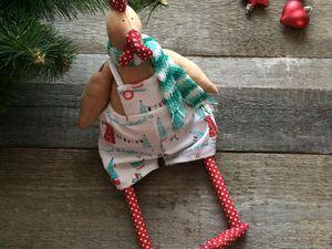 Шьем Петушка — игрушку в стиле Тильда. Ярмарка Мастеров - ручная работа, handmade.