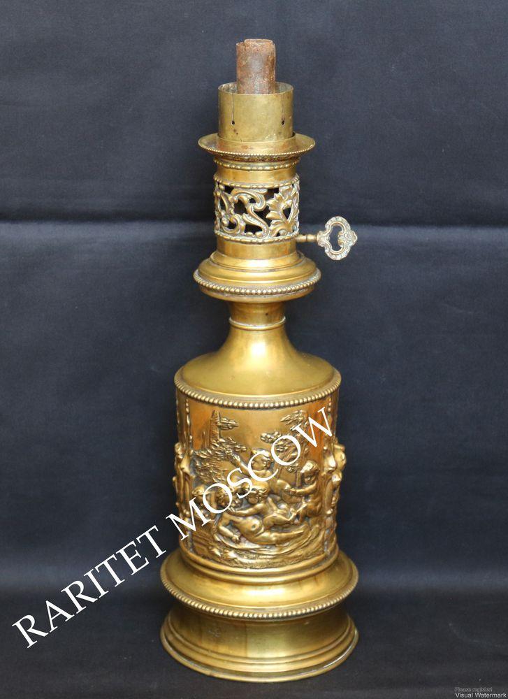старинная лампа