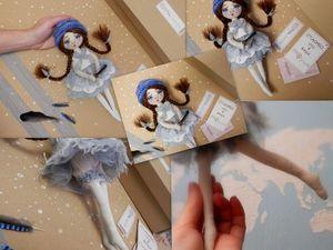 Аукцион. Кукла. Ярмарка Мастеров - ручная работа, handmade.