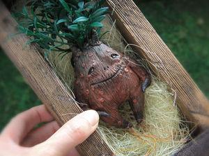 Мандрагора. Создаем магическое существо. Ярмарка Мастеров - ручная работа, handmade.