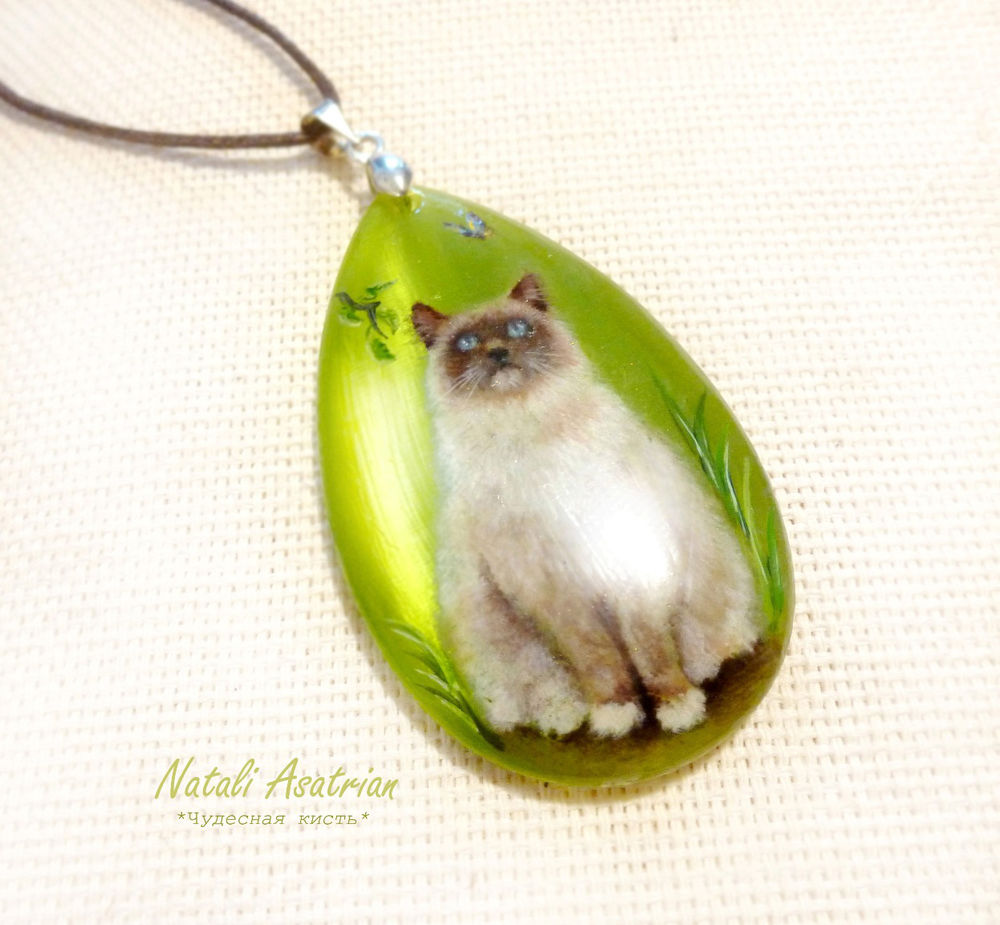 лаковая миниатюра, натуральный камень, новость магазина, агат, авторские украшения