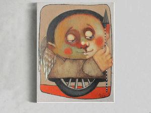 Лотерея № 4 в помощь художнику Гору (на его картину) Осталось 20 счастливых билетиков!   Ярмарка Мастеров - ручная работа, handmade