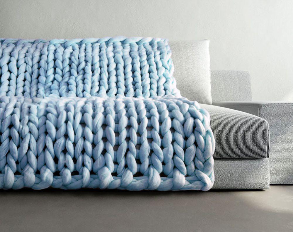 Крупное вязание фото