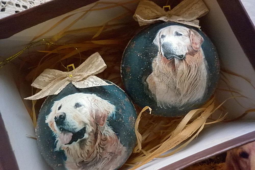 шары с собаками, подарок 2018