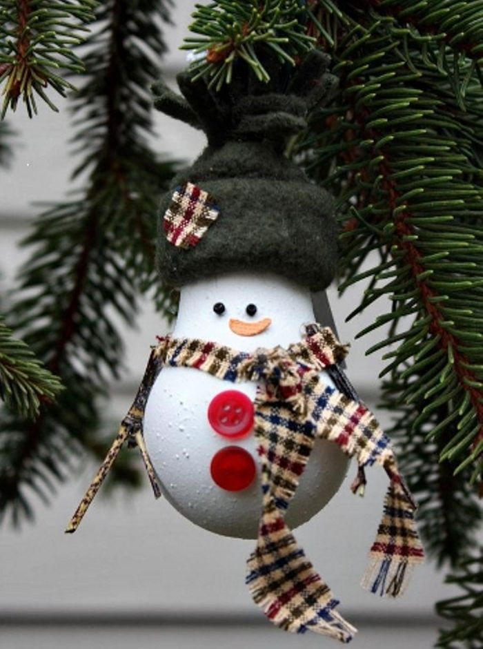 Christmas Decorations from Recycled Materials, фото № 8
