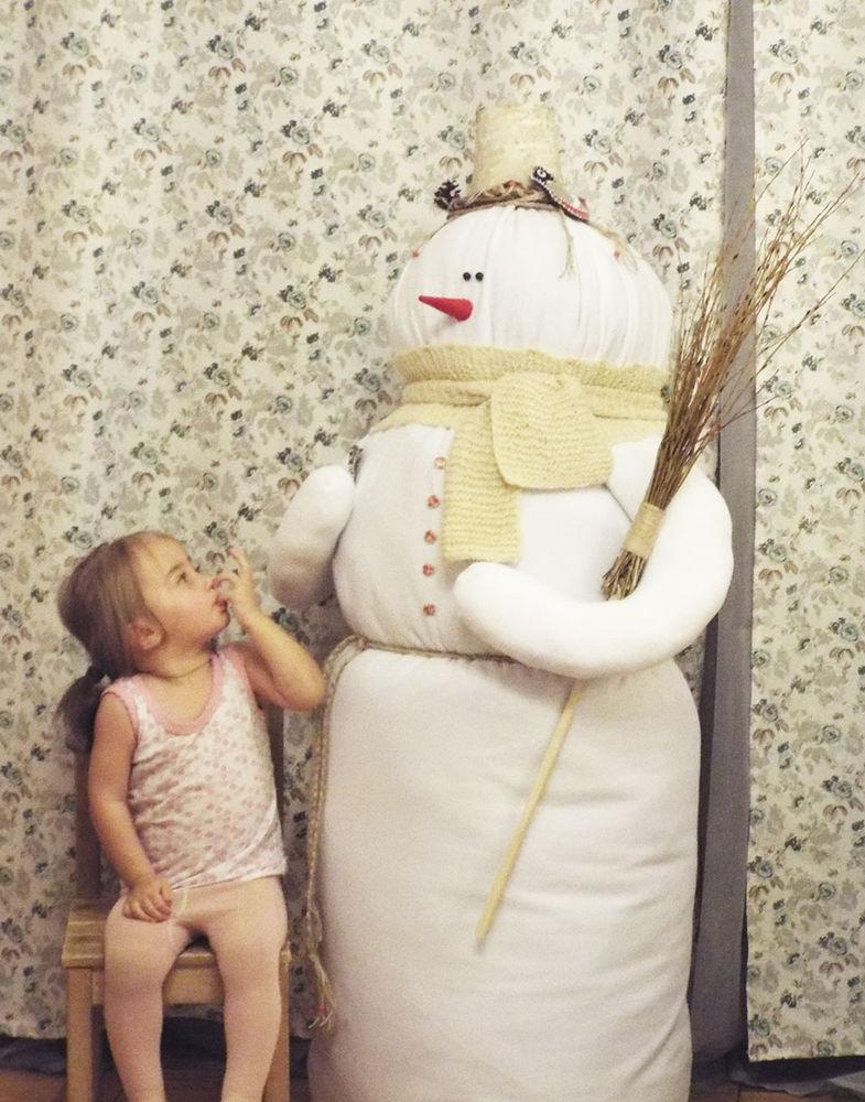 большой размер, огромный снеговик, купить снеговика