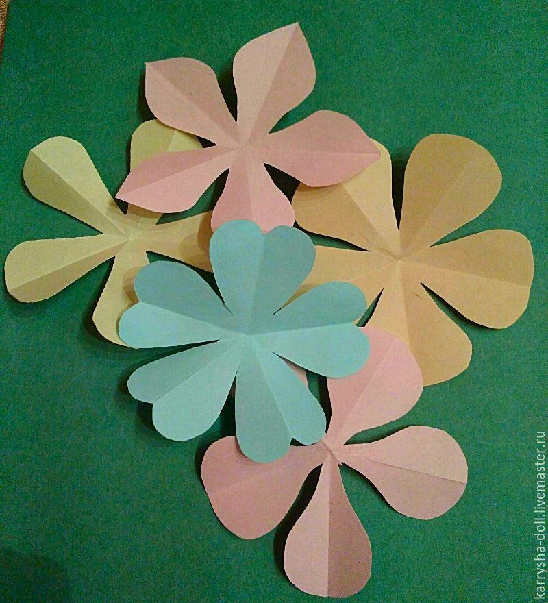 простой цветочек, детское творчество