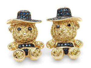 Ювелирные фантазии: медведь в самоцветах и золоте. Ярмарка Мастеров - ручная работа, handmade.