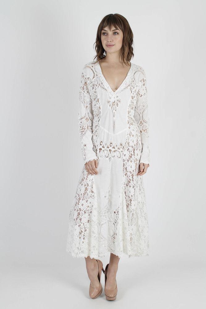 Белое бохо, или Шикарная одежда для королевы летнего пляжа, фото № 118
