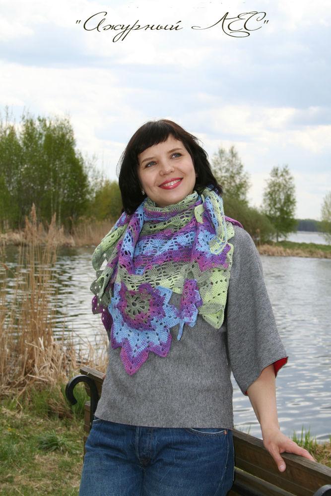 эффектный шарф