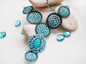 Аукцион на Колье Тайна + браслет в подарок! | Ярмарка Мастеров - ручная работа, handmade