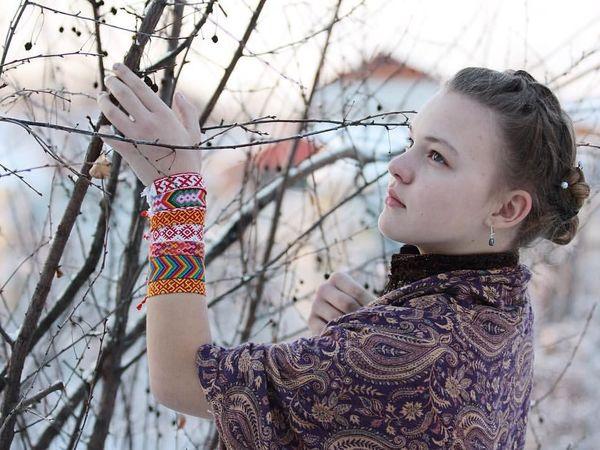 Фенечка - необычное украшение и оберег. | Ярмарка Мастеров - ручная работа, handmade