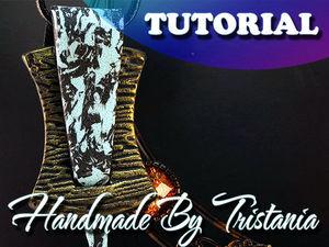 Видеоурок: создаем кулон «Дымка» из полимерной глины. Ярмарка Мастеров - ручная работа, handmade.