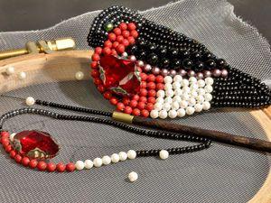 МК вышивка индийским крючком Москва 6 января | Ярмарка Мастеров - ручная работа, handmade