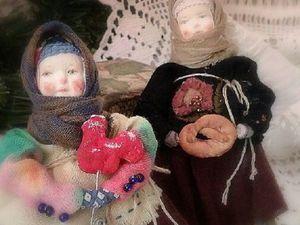 Колядки.Девочки-матрешки.. Ярмарка Мастеров - ручная работа, handmade.