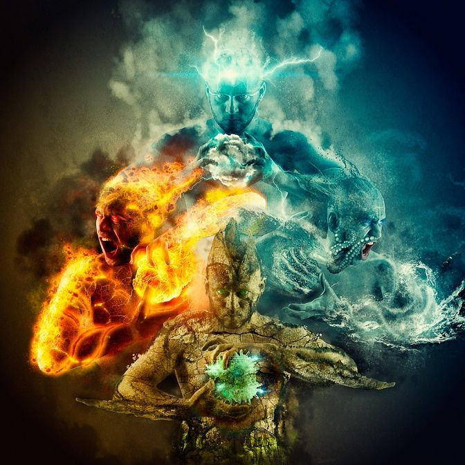огонь земля картинки и и ветер вода
