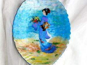 Только до 24 октября РАСПРОДАЖА! Ваша цена на любое панно или тарелочку!. Ярмарка Мастеров - ручная работа, handmade.