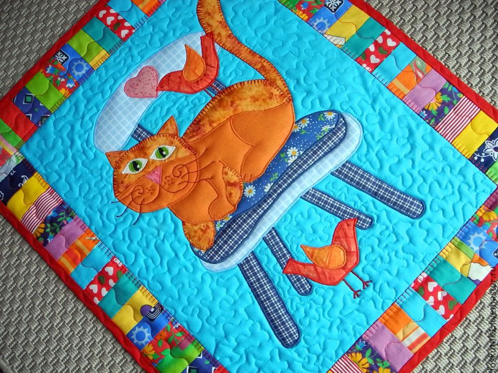 подарок мальчику, одеяло пэчворк, плед лоскутный
