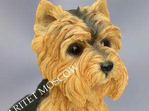 Йоркширский терьер БОЛЬШАЯ собака Leonardo Англия 38. Ярмарка Мастеров - ручная работа, handmade.