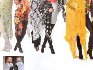 Шаль: женственно, изысканно, стильно. Ярмарка Мастеров - ручная работа, handmade.