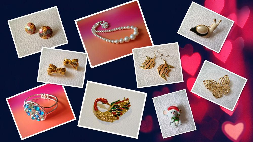 винтажные украшения, аукцион винтаж, аукцион украшений, купить украшения