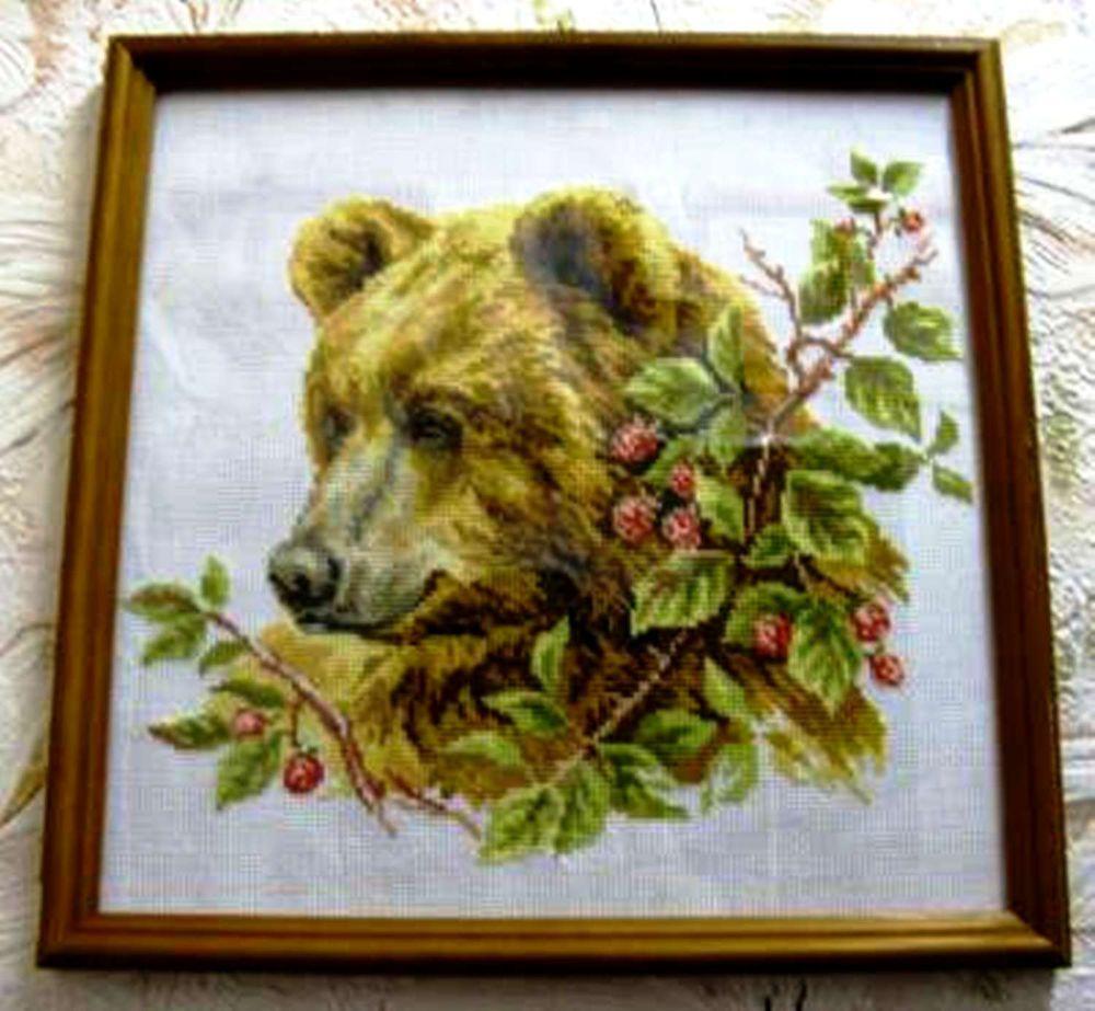 картины с медведями