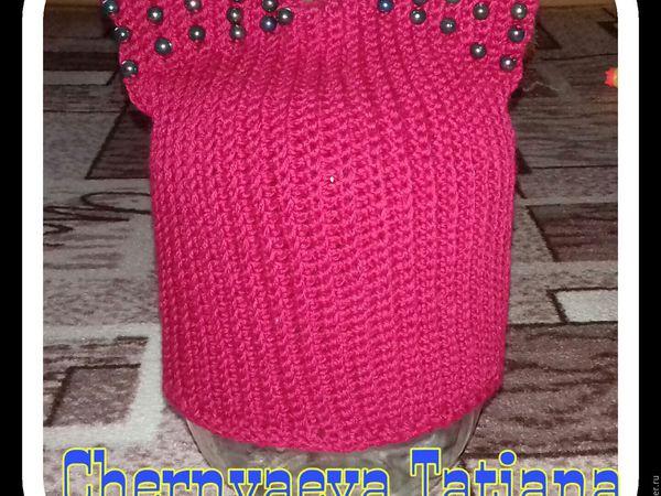 как правильно снять мерки для вязания шапки   Ярмарка Мастеров - ручная работа, handmade