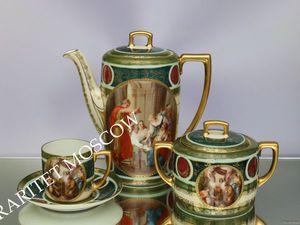 РЕДКОСТЬ Сервиз чайник сахарница чашка золото 7 | Ярмарка Мастеров - ручная работа, handmade