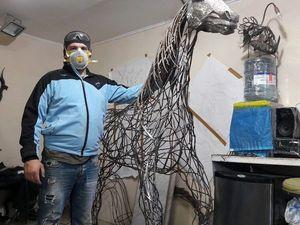 фото из процесса изготовления коня продолжение следует. Ярмарка Мастеров - ручная работа, handmade.
