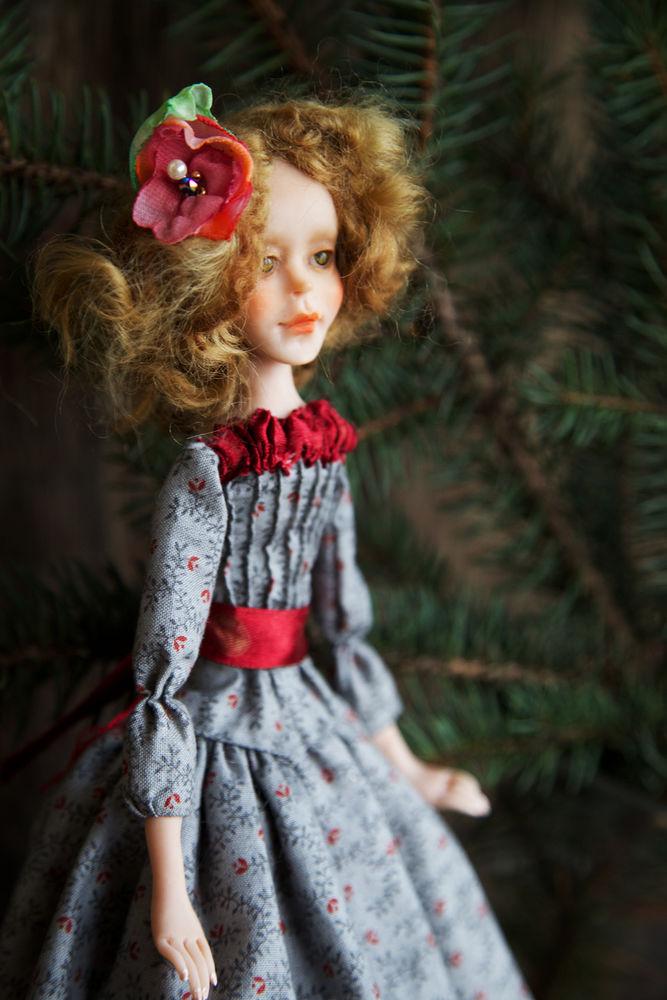 Дополнительные фотографии куклы ручной работы Софии., фото № 13