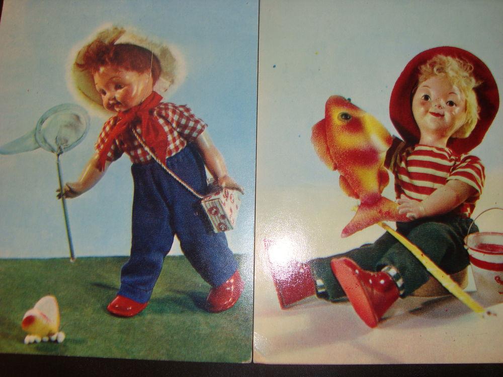 комплект открыток, винтажные открытки