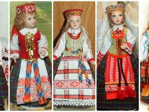 Литовки — мои куклы, особенности литовского народного костюма. Ярмарка Мастеров - ручная работа, handmade.