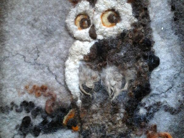 Живопись флисами, новый опыт. | Ярмарка Мастеров - ручная работа, handmade