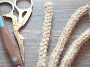 Как легко связать завязки-шнурки для детской шапочки: видео мастер-класс. Ярмарка Мастеров - ручная работа, handmade.