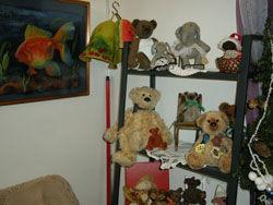 Выставка коллекционных медведей Hello Teddy на Тишинке