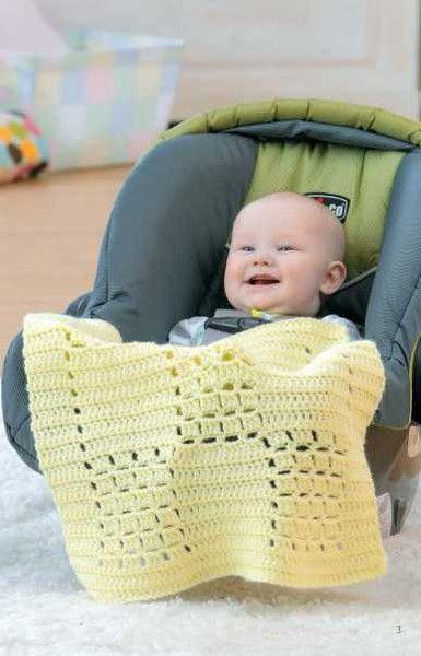 Picture of Crochet Car Seat Blankets ༺✿ƬⱤღ✿༻: