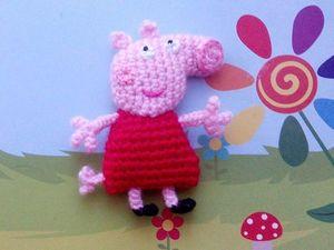 Свинка Пеппа и семья. Ярмарка Мастеров - ручная работа, handmade.