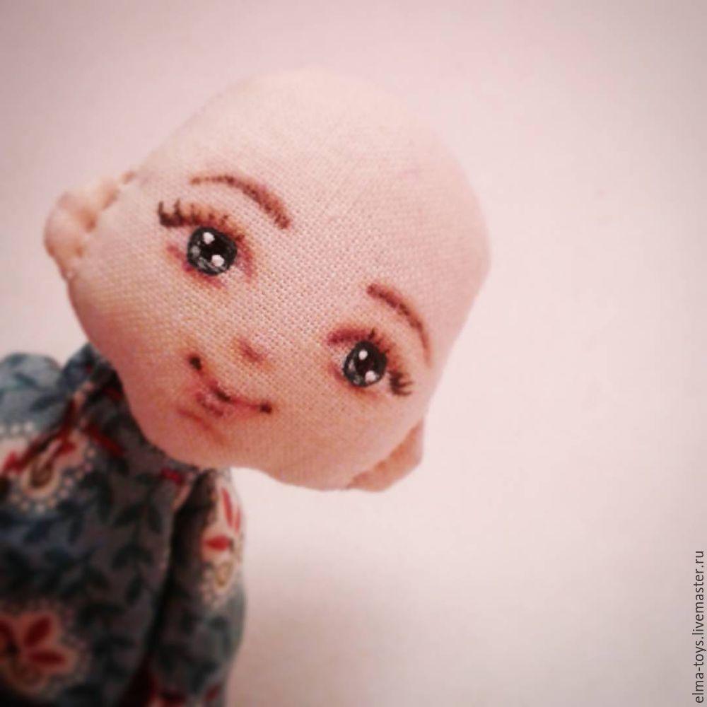 рисовать глаза кукле, рисовать лицо кукле, кукла брошь, как сшить куклу