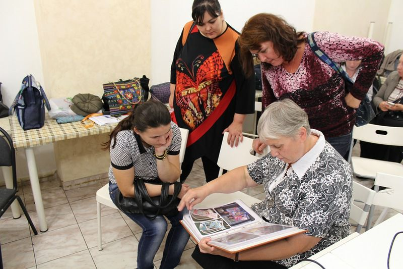 Фотоотчет с первых посиделок клуба -PRO-шитье 12 октября, фото № 17