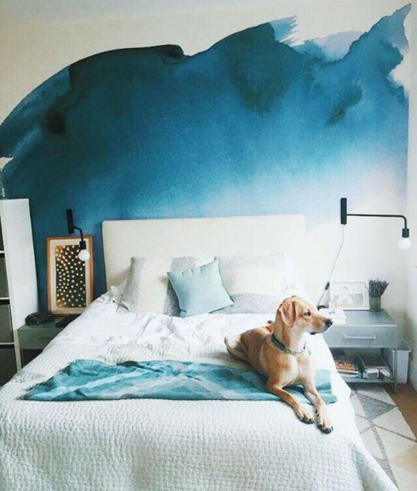 The Tenderest Interior: Abstract Watercolours on Modern Wallpapers, фото № 14