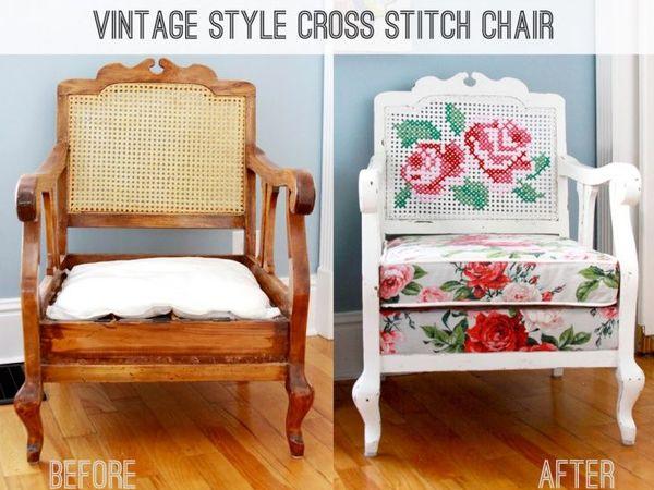 Вторая жизнь старого кресла | Ярмарка Мастеров - ручная работа, handmade