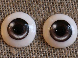 Видео мастер-класс: лепка и роспись глаз для кукол и игрушек. Ярмарка Мастеров - ручная работа, handmade.