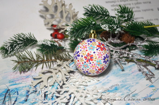 мастер-класс, новогодние сувениры, игрушки на ёлку