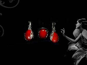 """Серьги и кольцо из натуральных камней — комплект """"Фея"""". Ярмарка Мастеров - ручная работа, handmade."""